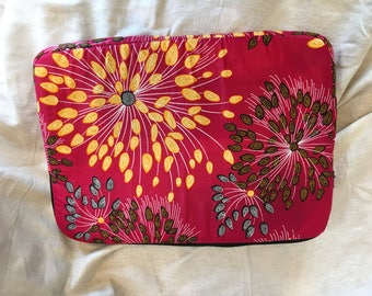 "Handmade durable cotton padded 15"" Laptop case"
