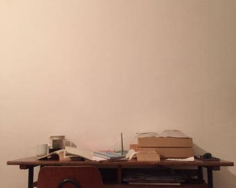 Hohenloher orignal Urban School Desk MID CENTURY