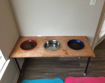 Customized Elevated Dog Feeders