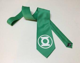 Green Lantern Necktie