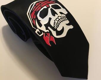 Cool Skull Necktie
