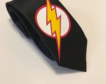 The Flash Necktie, Black Tie