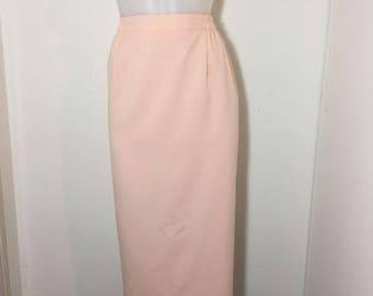 Vintage Pencil Skirt Size 14