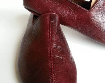 Sufi leather shoes, Indoor dervish style