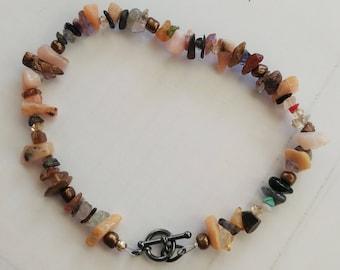 Rough Gemstone Bracelet