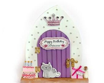 Happy birthday princess fairy door