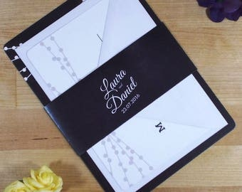 Chalkboard Wedding Invitations - Sample