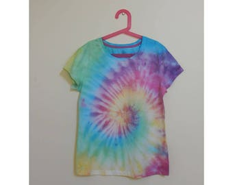 Tie Dye Girl's T-Shirt - Size 16