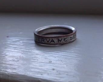 Marc Jacobs Latin Ring- Designer, Jewelry