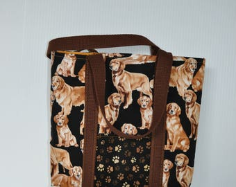 Grocery shopping tote bag