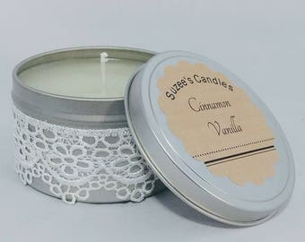 Soy Candle Tin Set of 3