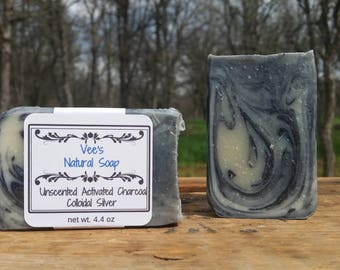 Collidal Silver Soap Activated Charcoal