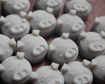 3-Piece Scented Piggy Soy Wax Melts (Ice Grapefruit)