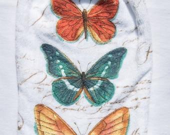 Butterfly Kitchen Towel   Crochet Top