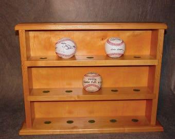 Custom Baseball Display Case
