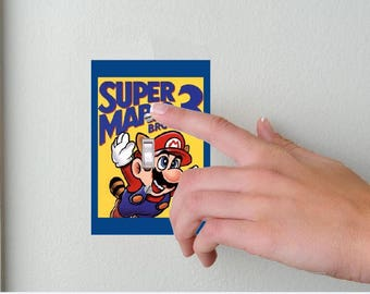 Super Mario Bros. 3- Lightswitch Cover- Nintendo Room Decor