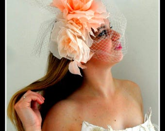 CREATION Hats MARRIAGE Symphonie corail - Sinfonie KORALLE