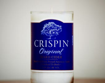 Crispin Beer Candle- Candy Apple Scented