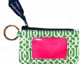 Simply Southern Wallet KEY ID Green Vine