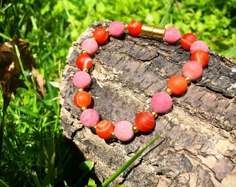 Love & Fire, Magnetosphere Bracelet, Healing Energy Design