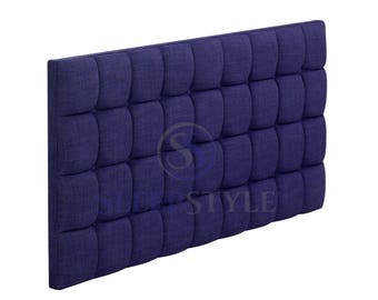 6FT Superking Hartogate Upholstered Headboard - Choose Any Fabric, Also Available In Various Heights