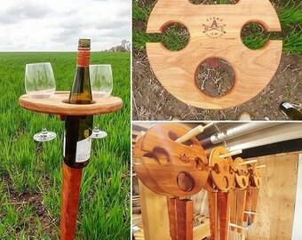 Handmade Wine Stand