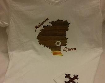 """Custom Shirt """"Melanin Queen"""""""
