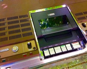 1976 Betamax X2 VCR Player - Very cool!