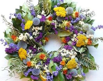 Little Garden Wreath | Summer Wreath | Spring Wreath | Home Decor
