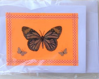 Noteworthy blank greeting cards-JAVA card collection-butterfly design
