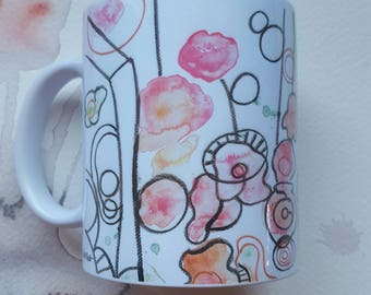 "Mug ""POP""-collection Flowers 2017-"