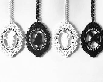 Wonderland Cameo Necklaces