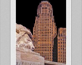 Buffalo City Hall Lion - Buffalo NY