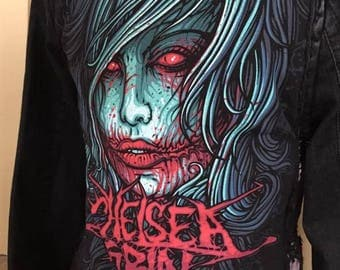 Chelsea Grin denim jacket