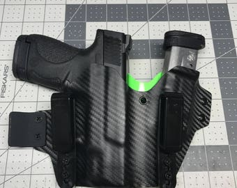 Smith and Wesson Shield 9/40 appendix side car holster