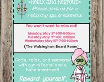 R+F Mini Facial, Hand Treatment Spa Day