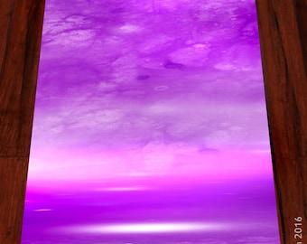 Crown™ (violet) Yoga mat