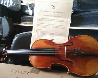 Heritage Bergonzi violin new 4/4