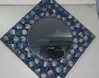 Mirror art/Wall Art/Wall Decor/Wall Hanging/Mirror Wall Hanging