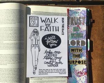 CF0003 - Walk by Faith - Stamp Set