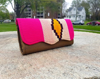 Gold Kente Clutch