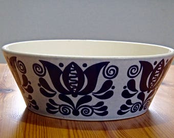 Size M Sweet Bowl bowl season STONEWARE 60 s 70 s