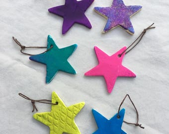 Handmade Star Ornaments