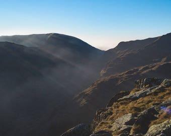 Lake District landscape photography print | Grisedale nr Helvellyn, UK | Limited Edition fine art print