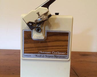 Vintage Robeson Fully Automatic Can Opener Knife Sharpener