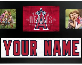 Los Angeles Angels MLB Jersey Custom Picture Frame