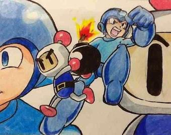 Bomberman VS. Megaman