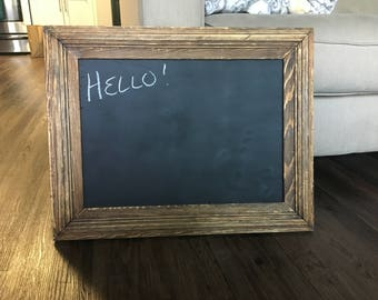 Antique Wood Frame with Chalkboard