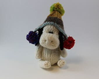 Knitted Simply Cute Amigurumi Dog