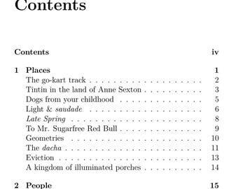 Typeset book (PDF and TeX)